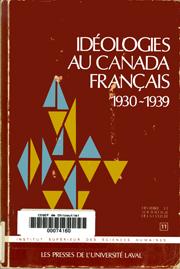 contemporains durocher rene faciste canadien texte